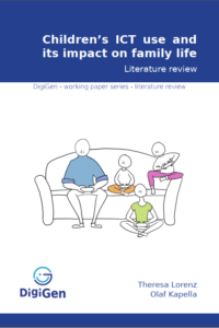 Children's ICT use and its impact on family life